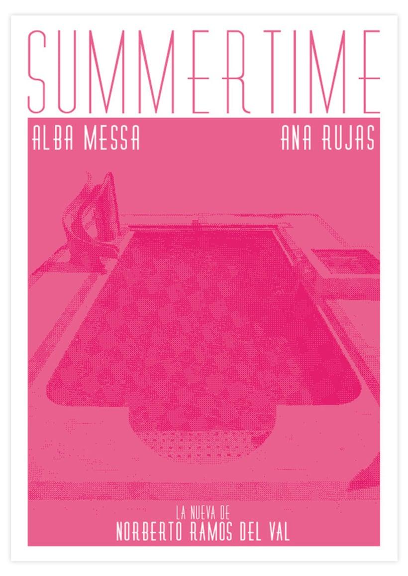 Diseño imagen y portada - Summertime 2