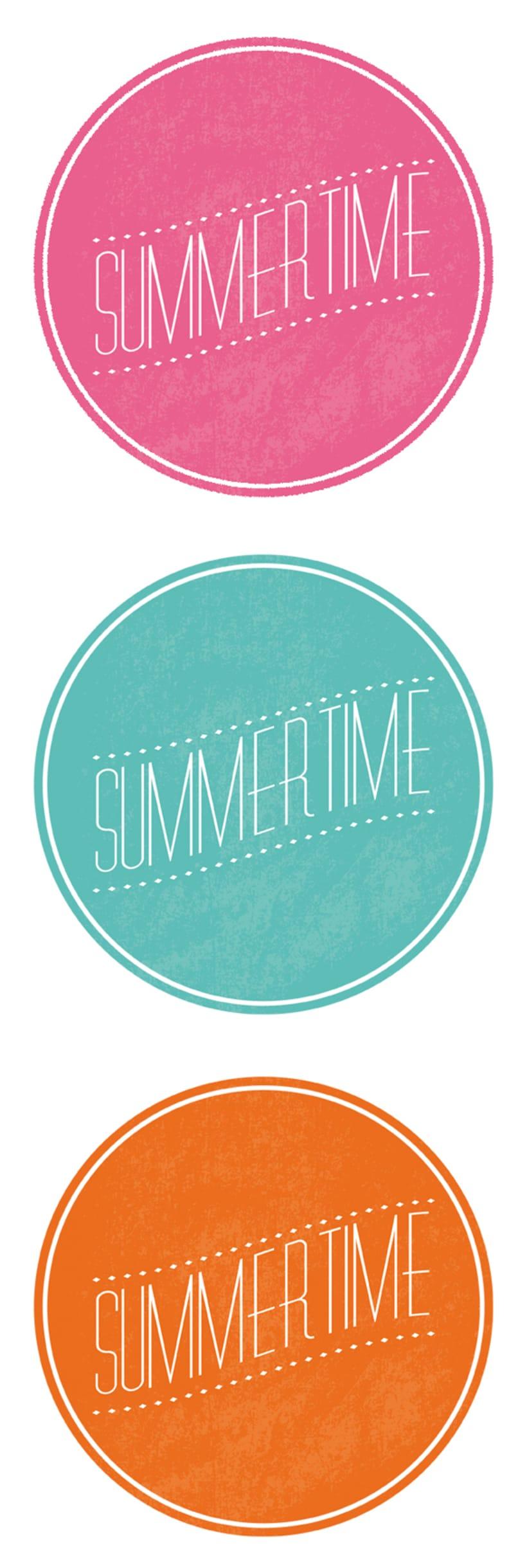 Diseño imagen y portada - Summertime 1