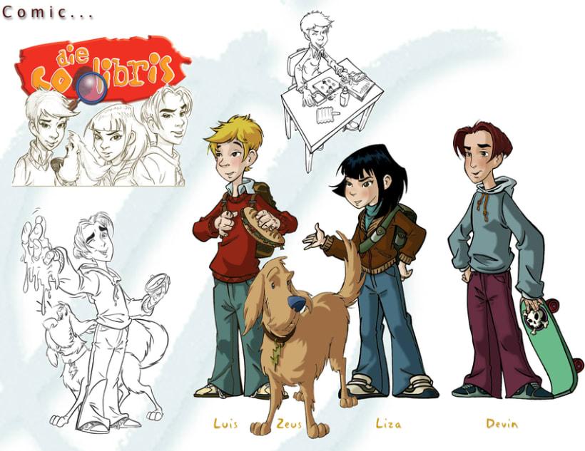 Comics...TV Show/ Coolibris/Harry Cover/ Valder/Tempus fugit/Indiana Lions/X-Men/Conan 4