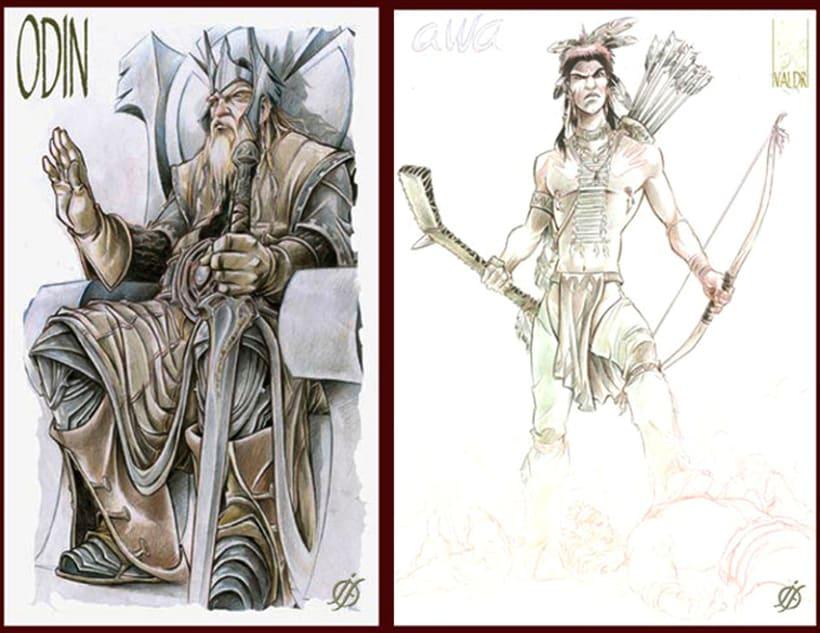 Comics...TV Show/ Coolibris/Harry Cover/ Valder/Tempus fugit/Indiana Lions/X-Men/Conan 20