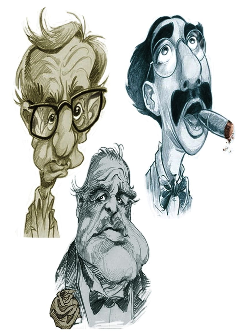 Caricatures & portraits... 6