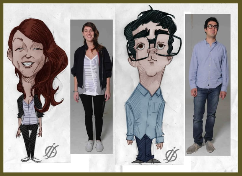 Caricatures & portraits... 9