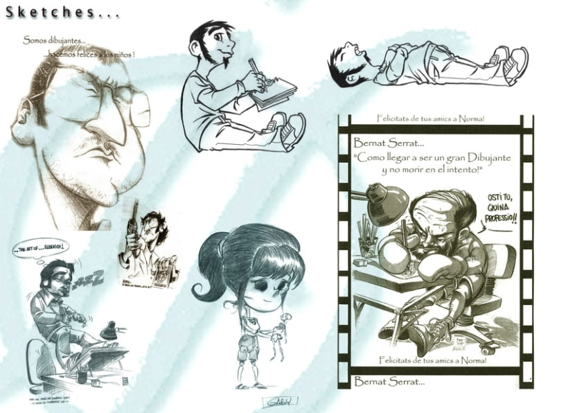 Caricatures & portraits... 10