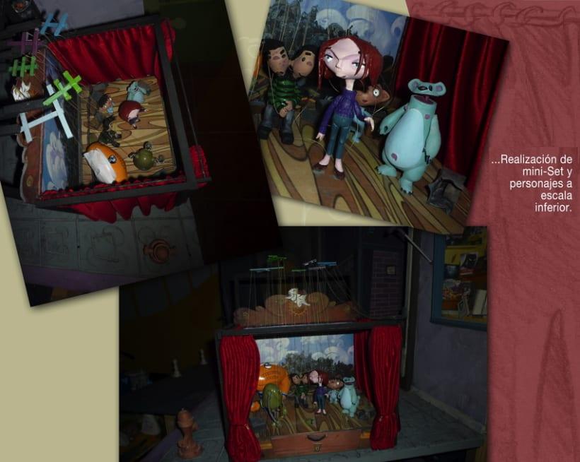 """ESCULTURA/MODELADO/MAQUETAS Y ESCENARIOS (1)...""""Defectuosos"""" Animated Shortfilm 19"""