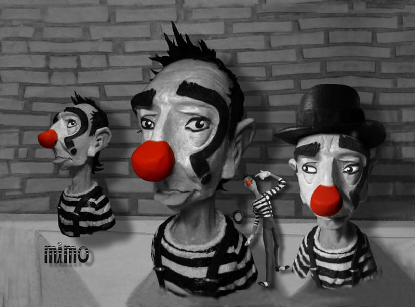 "ESCULTURA/MODELADO (2)...""Mimo"" Animated shortfilm project/""Calacas célebres""/""DCO""Animated shortfilm project 0"