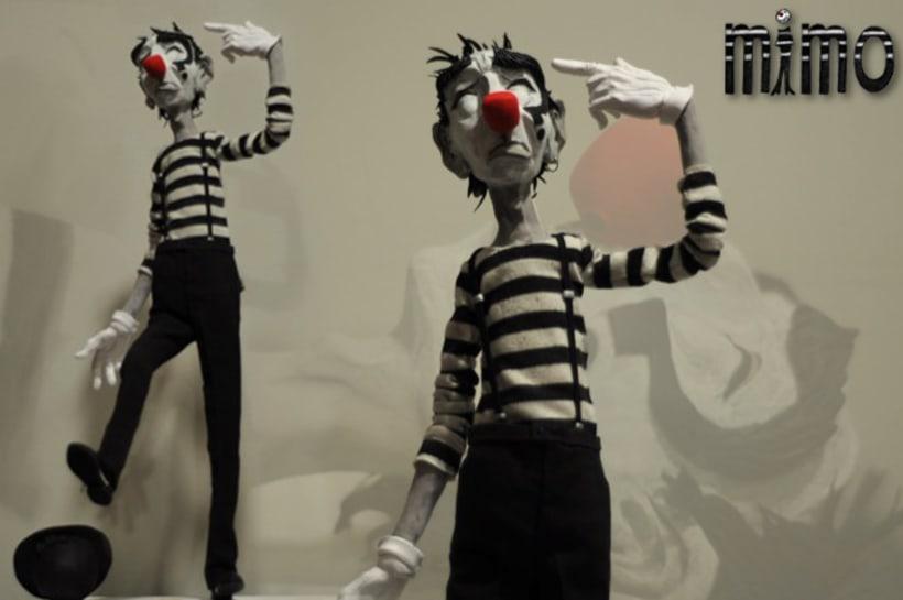 "ESCULTURA/MODELADO (2)...""Mimo"" Animated shortfilm project/""Calacas célebres""/""DCO""Animated shortfilm project 2"