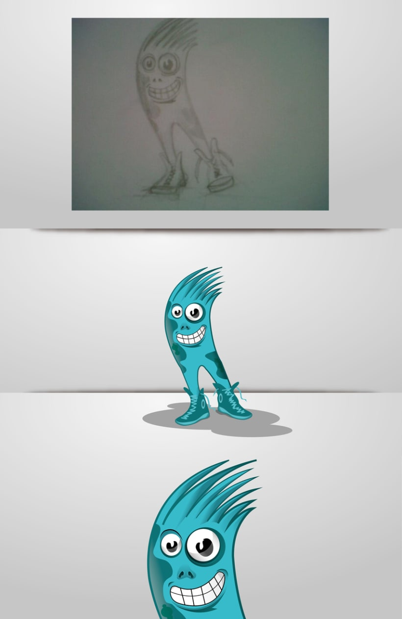 ilustración de personajes -1