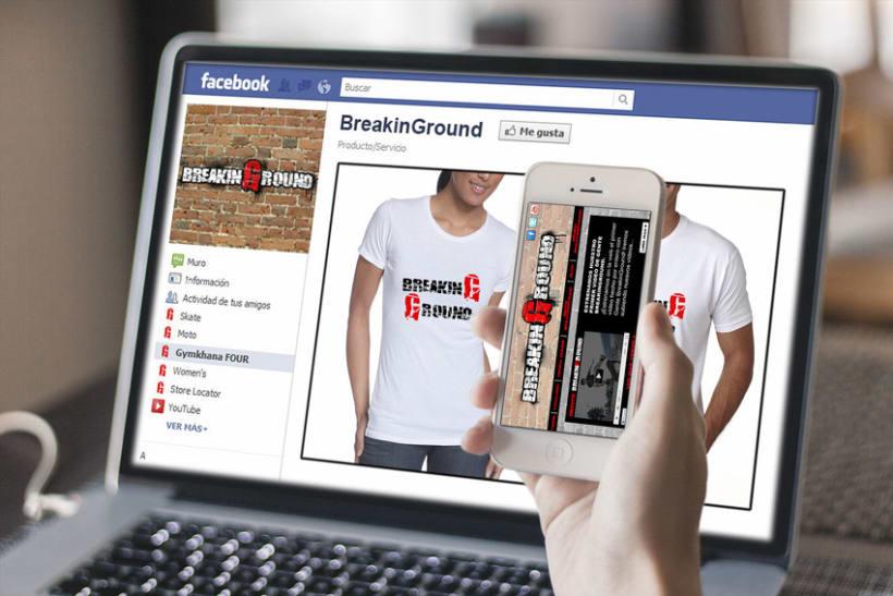 Creación de marca Breaking Ground 1