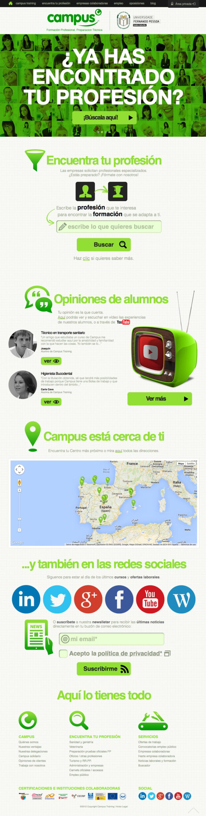 Diseño web de empresa de formación -1