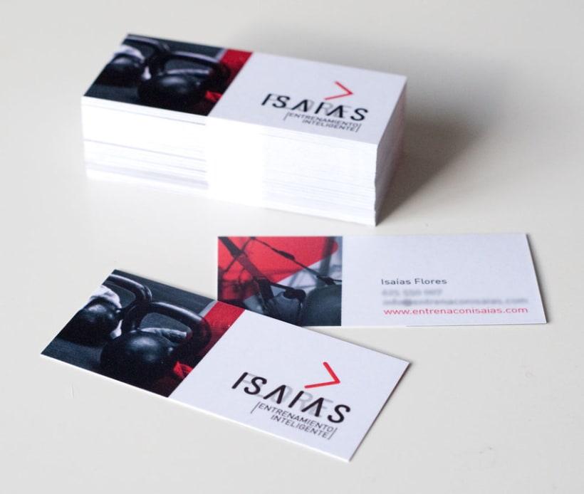 ISAÍAS FLORES // Identidad Visual 0