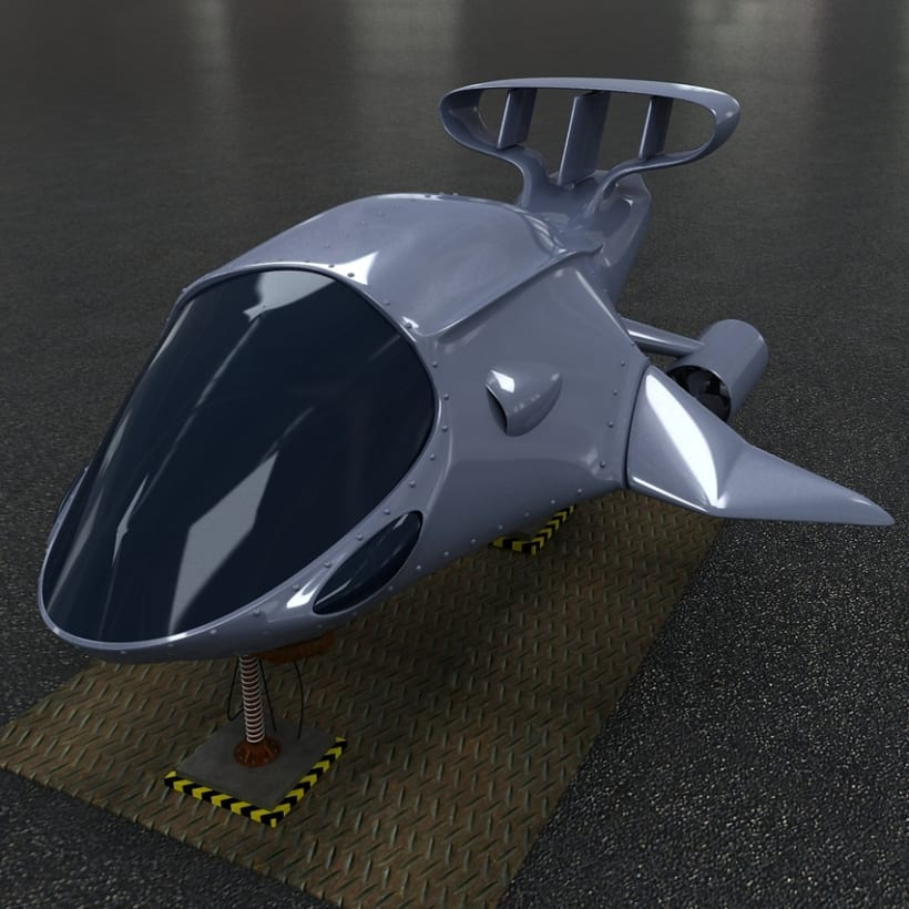 Submarine Vehicle Design 6