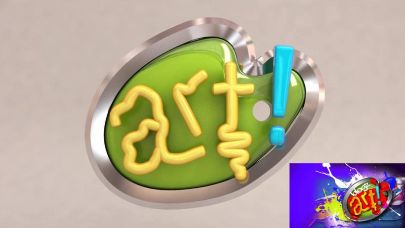 3D TV Channel Logos 1
