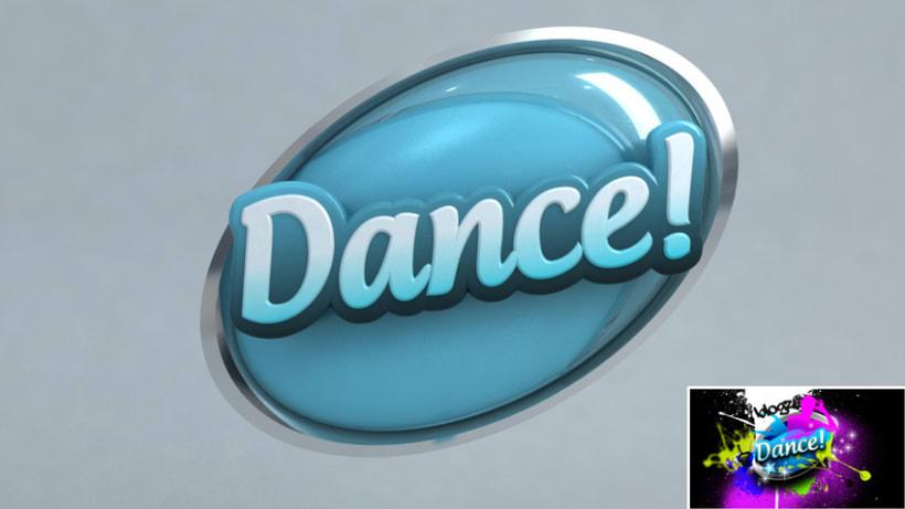 3D TV Channel Logos 3