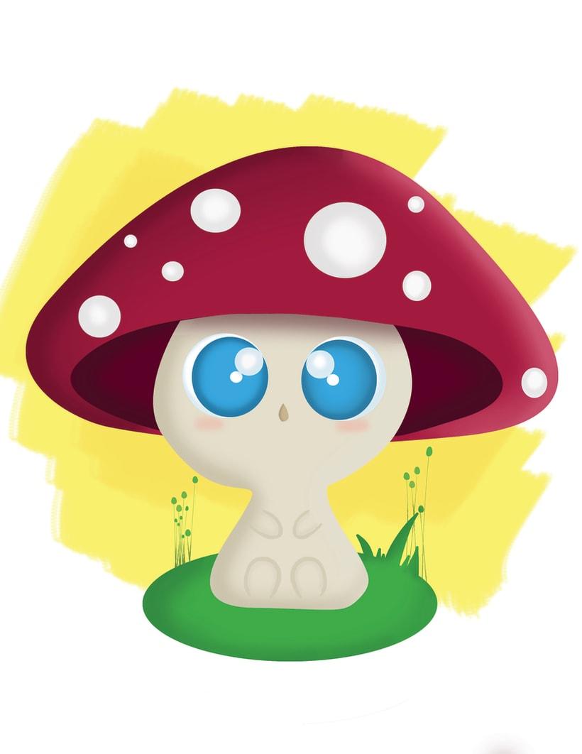 Baby Mushroom  0