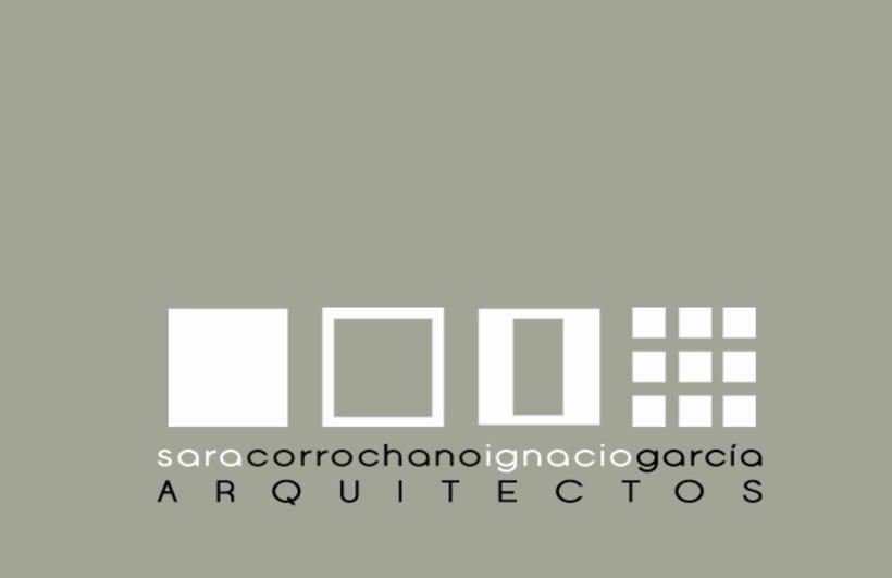 Tarjetas de Visita CORROCHANOGARCÍA  ARQUITECTOS -1