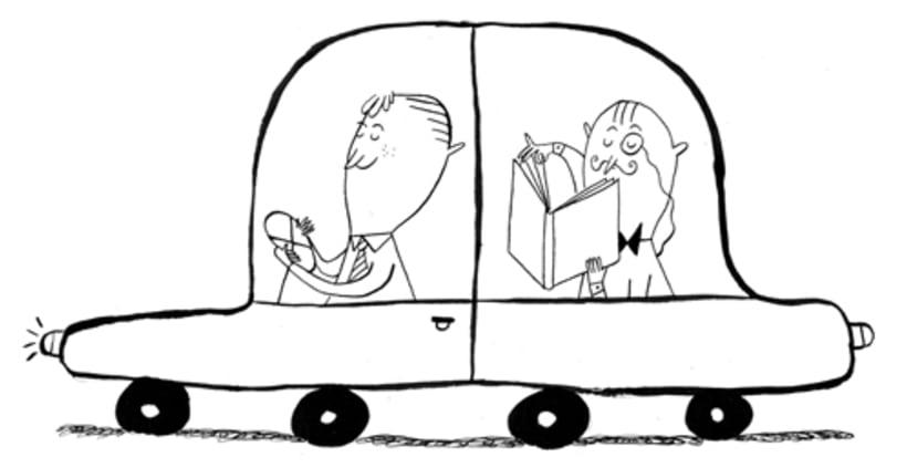 """""""La ciudad y los libros"""" 1"""