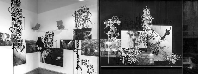 EXPOSÉ • Paste up & Calligraffiti 5