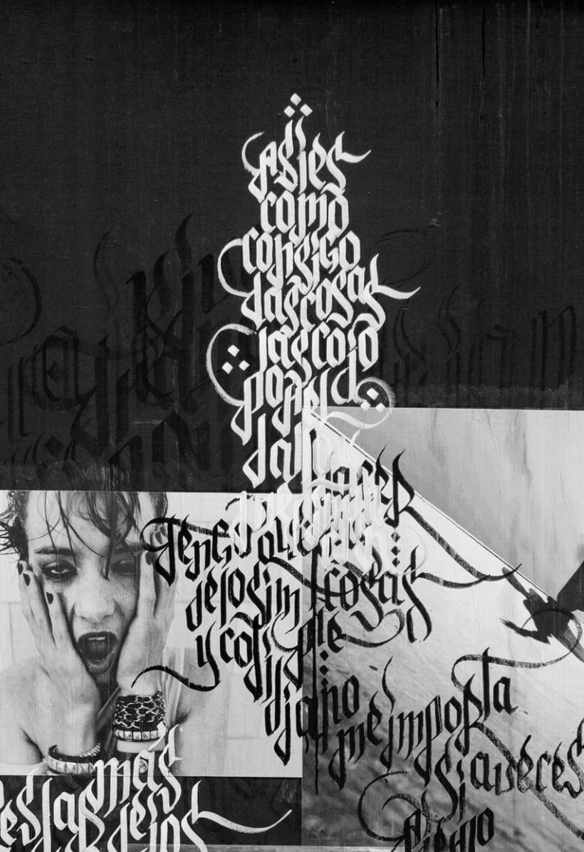 EXPOSÉ • Paste up & Calligraffiti 6