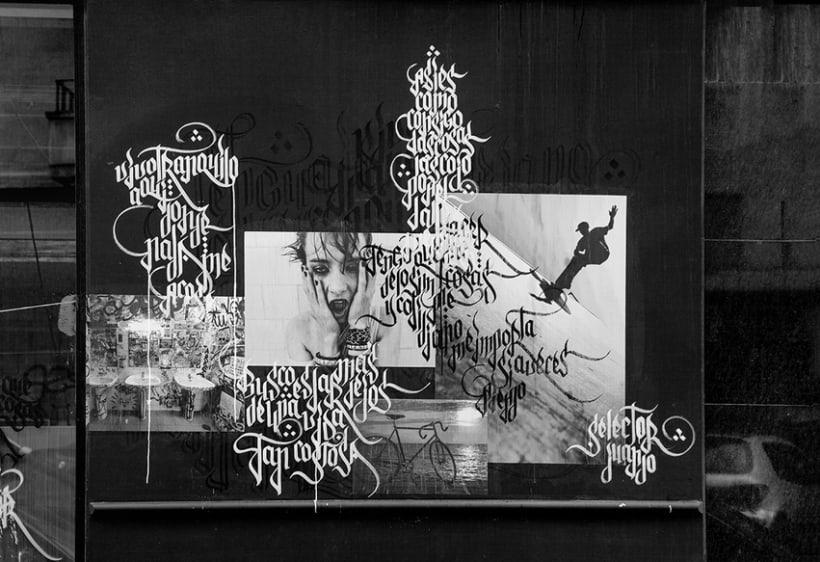 EXPOSÉ • Paste up & Calligraffiti 8