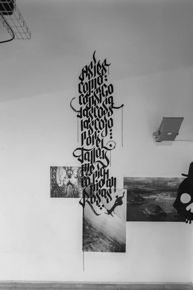 EXPOSÉ • Paste up & Calligraffiti 10