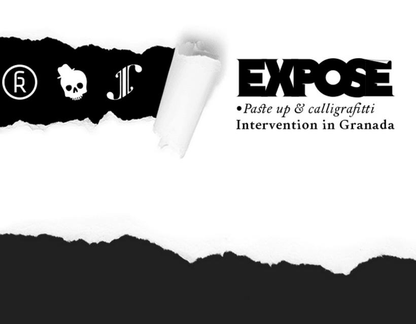 EXPOSÉ • Paste up & Calligraffiti 14