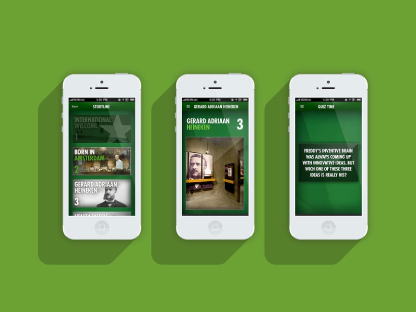 Heineken Experience - iPhone and Android app 0