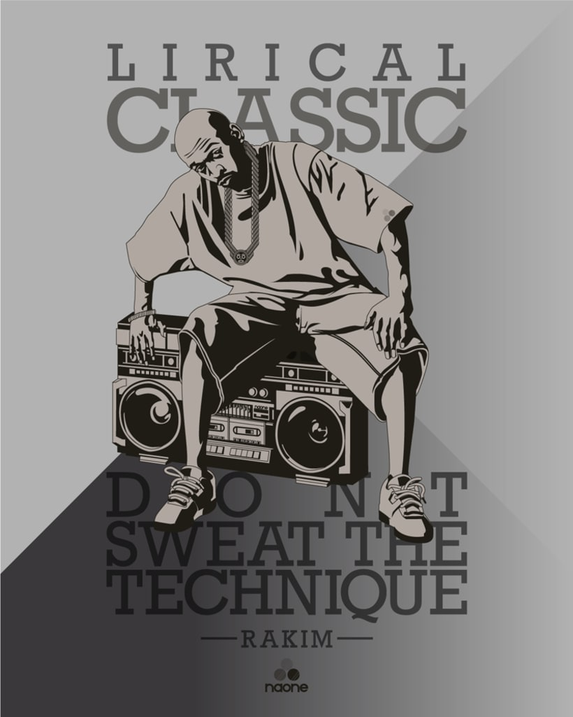 Lirical Classic. Rakim 0