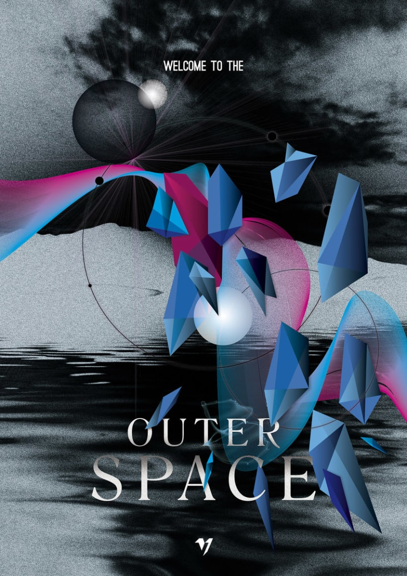 Outer Space Series II 0