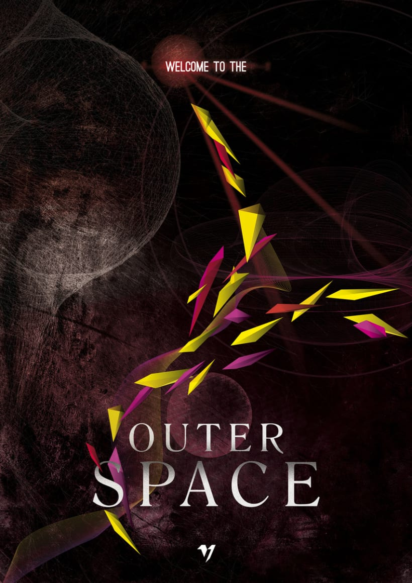 Outer Space Series II 1