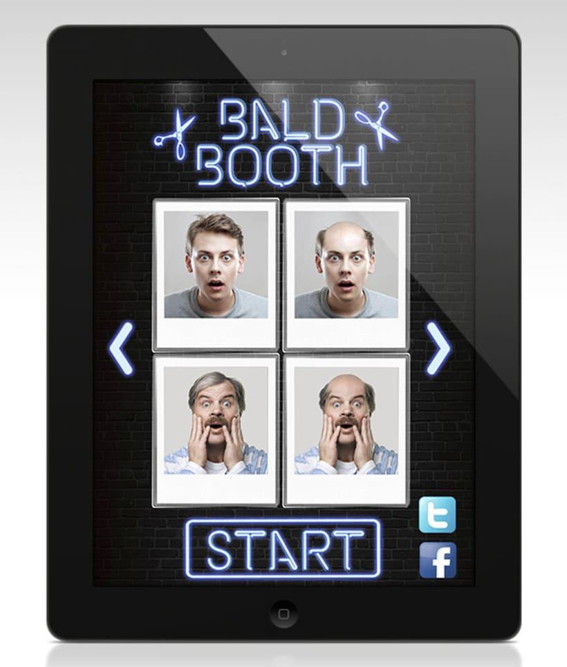 Bald Booth (App) 2