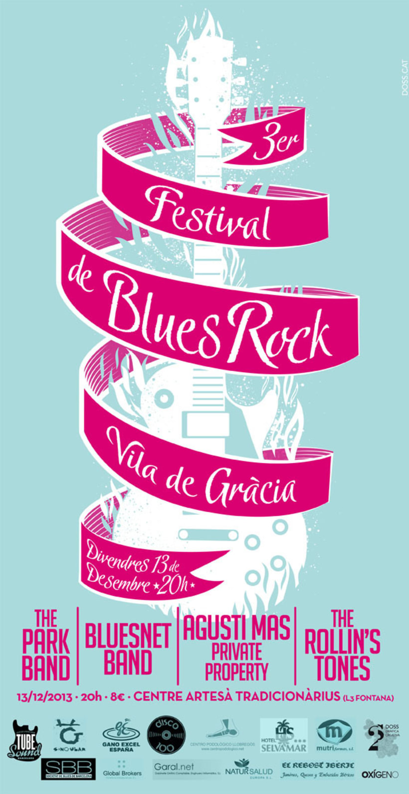 III Festival de Blues-Rock Vil·la de Gràcia 0