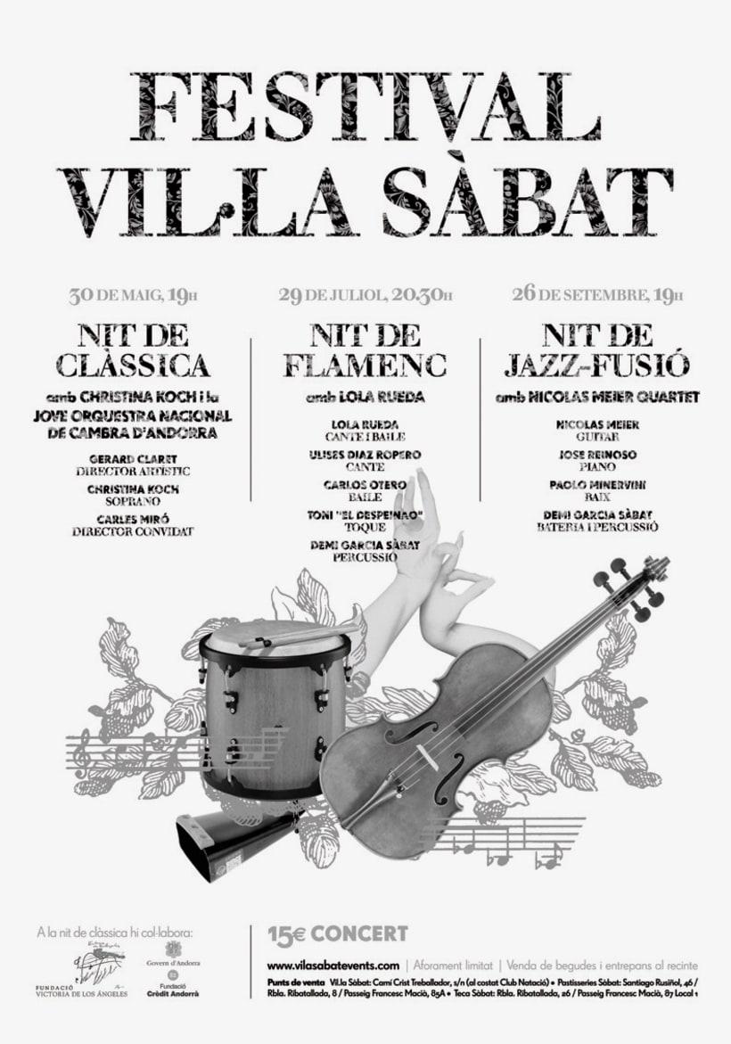 I y II FESTIVAL VIL·LA SÀBAT 0