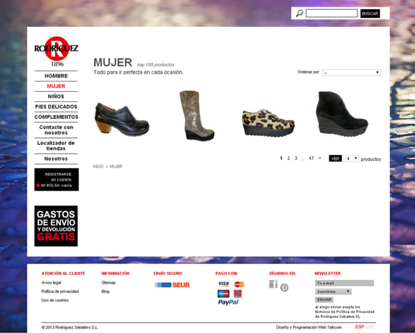 Tienda online Calzadorodriguez.com 1