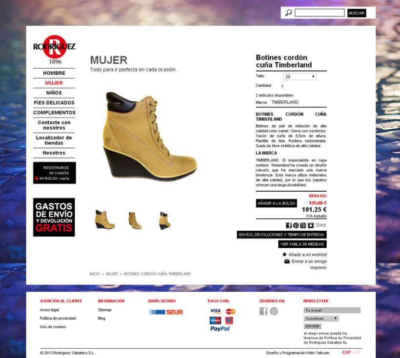 Tienda online Calzadorodriguez.com 2