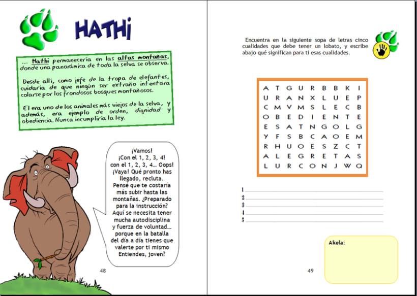 Maquetación cuaderno infantil de actividades 1