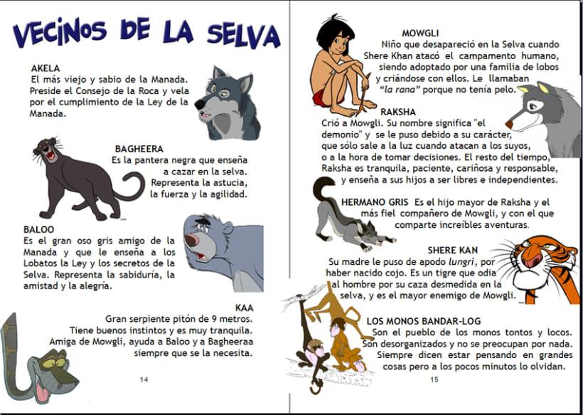 Maquetación cuaderno infantil de actividades | Domestika