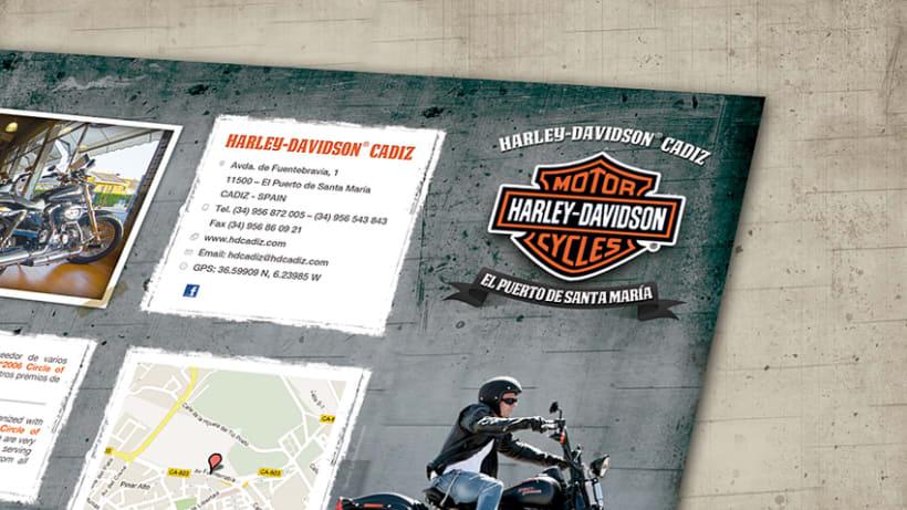 Tríptico Harley Davidson 2