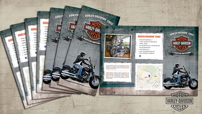 Tríptico Harley Davidson 3