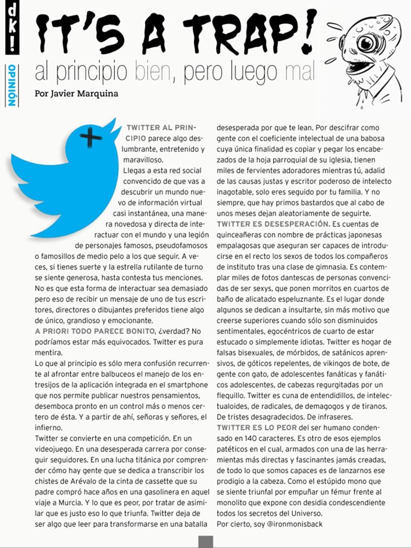 Ilustración Editorial - Duckout! Magazine 7