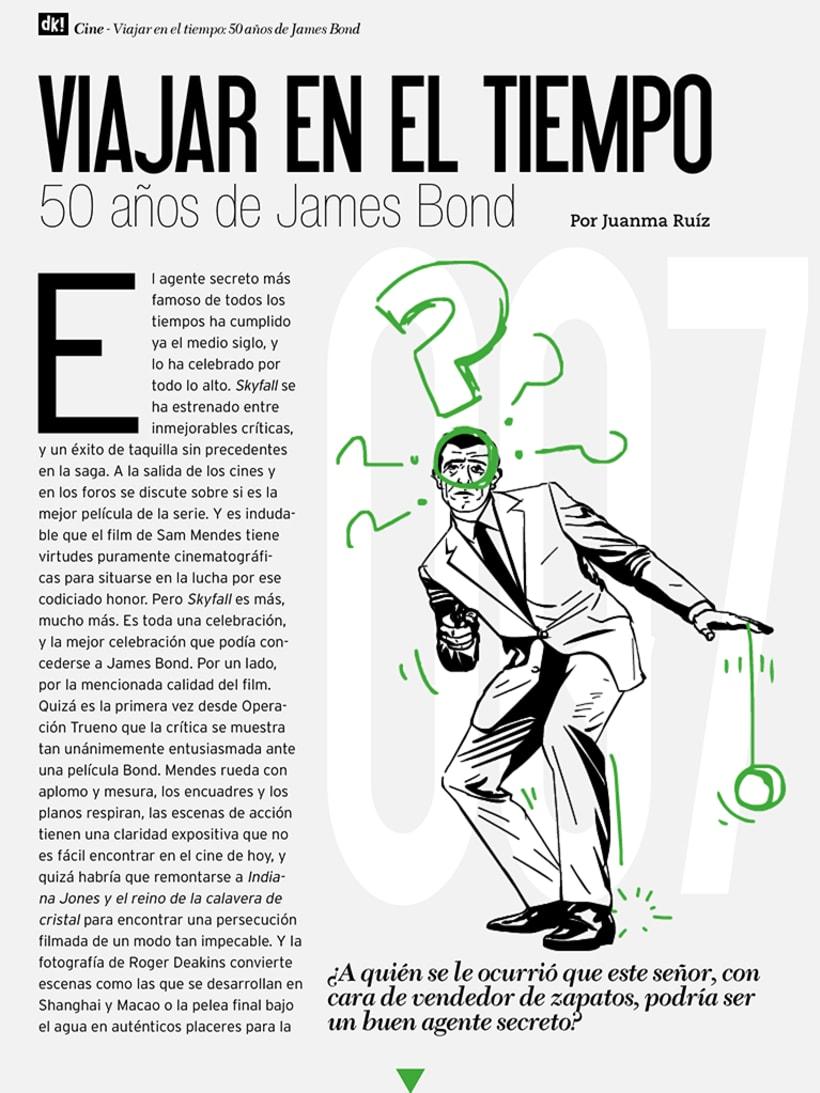 Ilustración Editorial - Duckout! Magazine 10