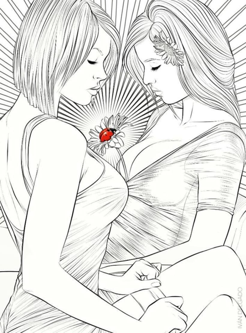 Girls B&W 10