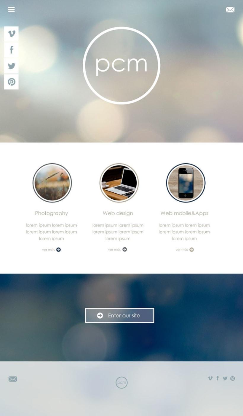 Web portfolio designer 0