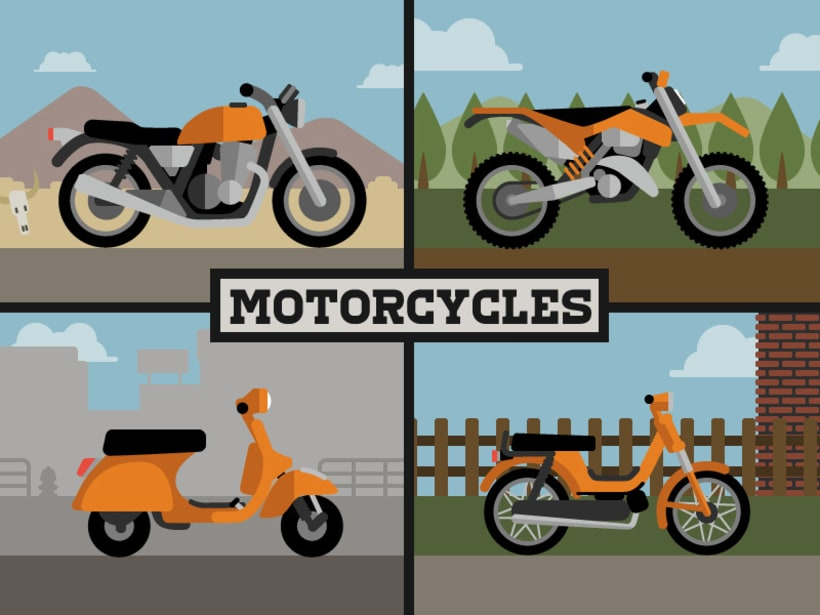 Motorcycles -1
