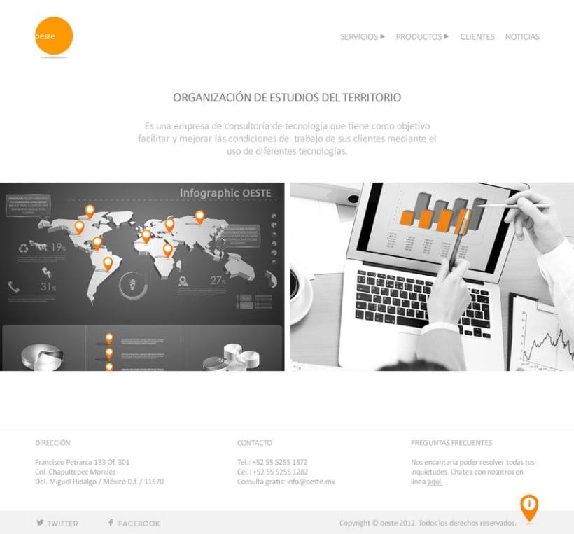 Rediseño Web: Oeste.mx 1