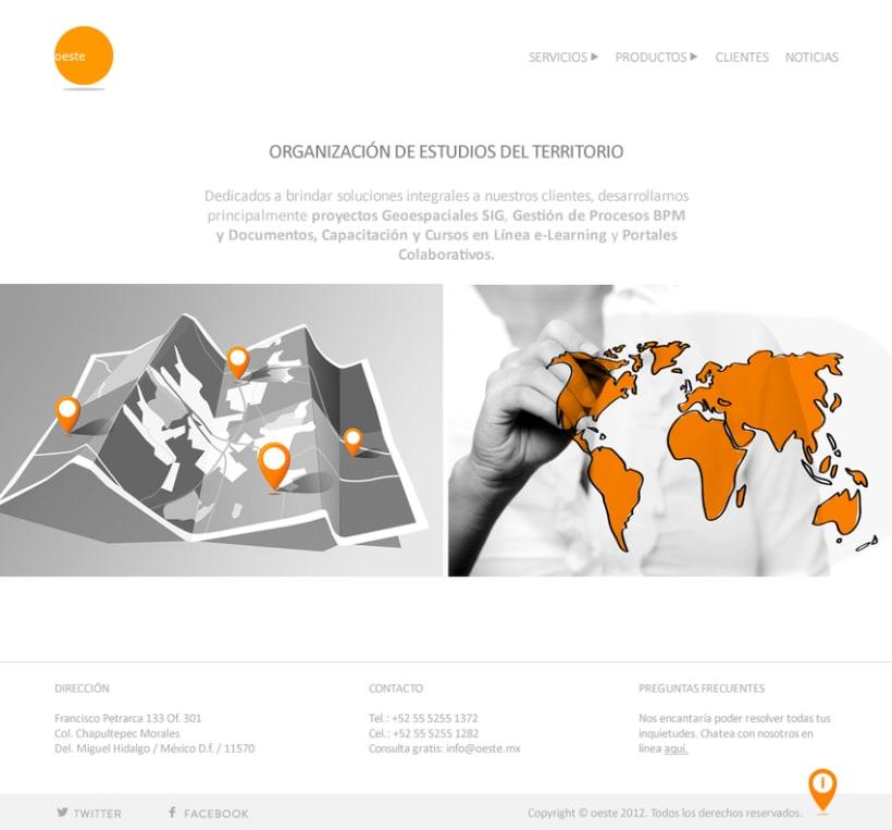 Rediseño Web: Oeste.mx 2