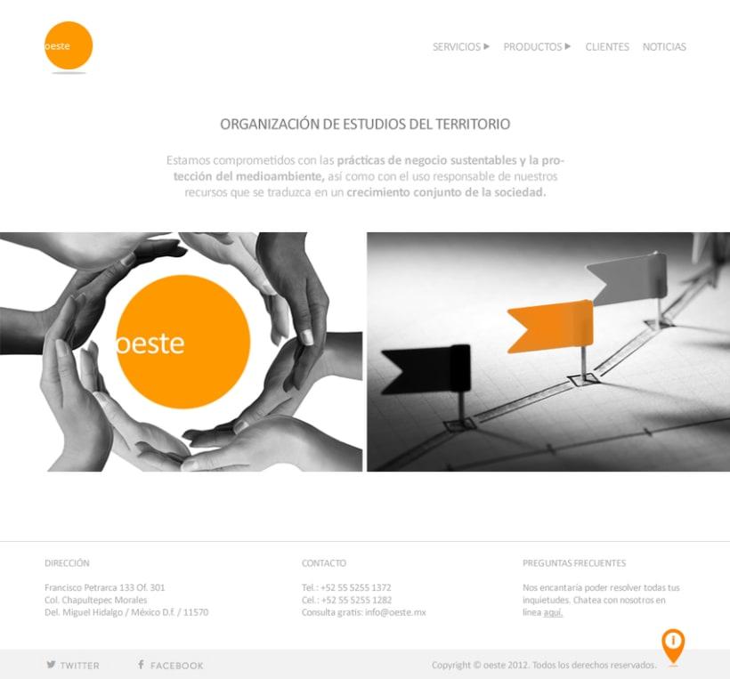 Rediseño Web: Oeste.mx 3