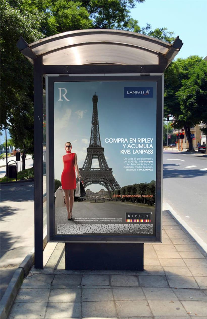 Campañas publicitarias | LAN Perú 1