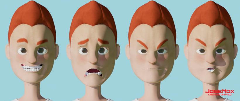 Personajes 3D 1