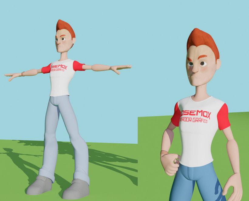 Personajes 3D 2