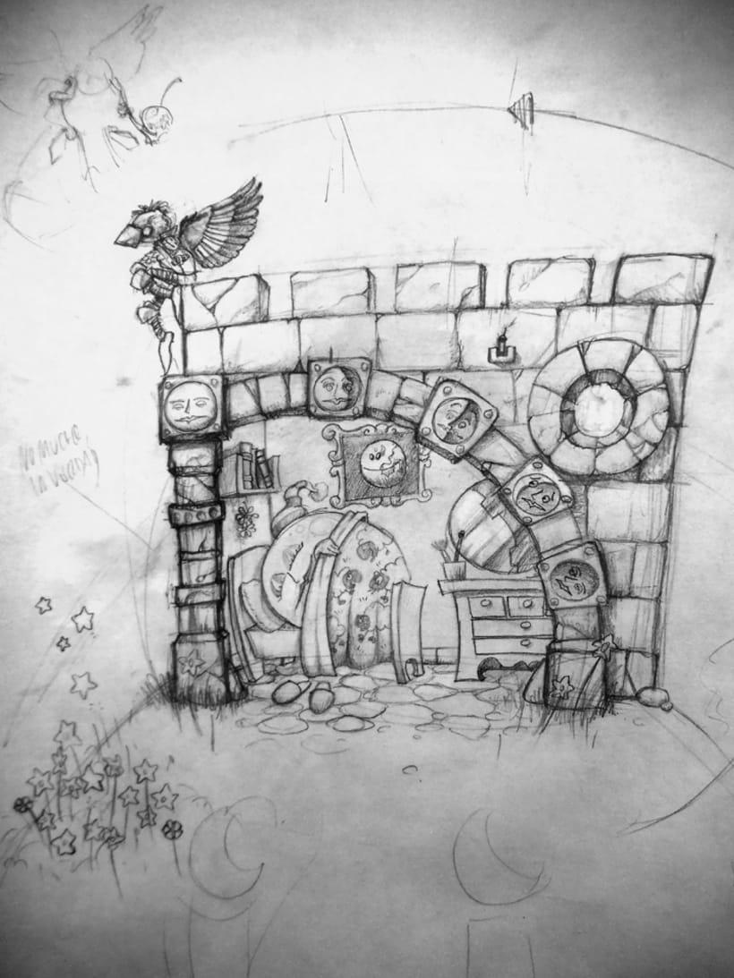 bocetillos, ilustras y muraletes 0